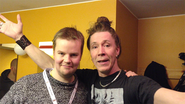 "Andreas och Martin ""E-Type"" Eriksson, intervju innan konserten på Jokkmokks marknad den 8:e februari 2013"