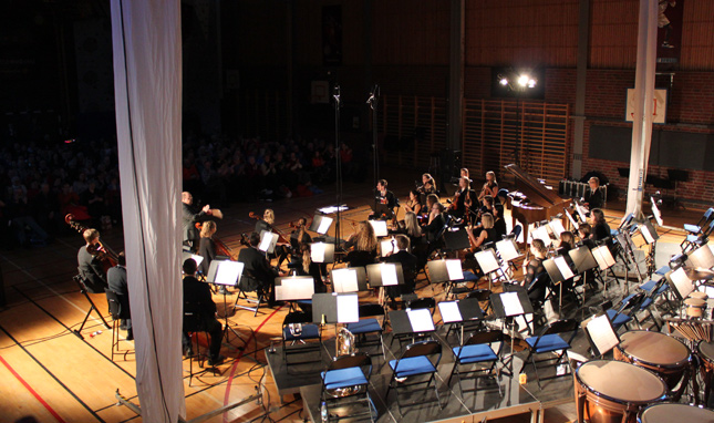 Concert: Norrbotten youth symphonic orchestra with Kalle Moraeus