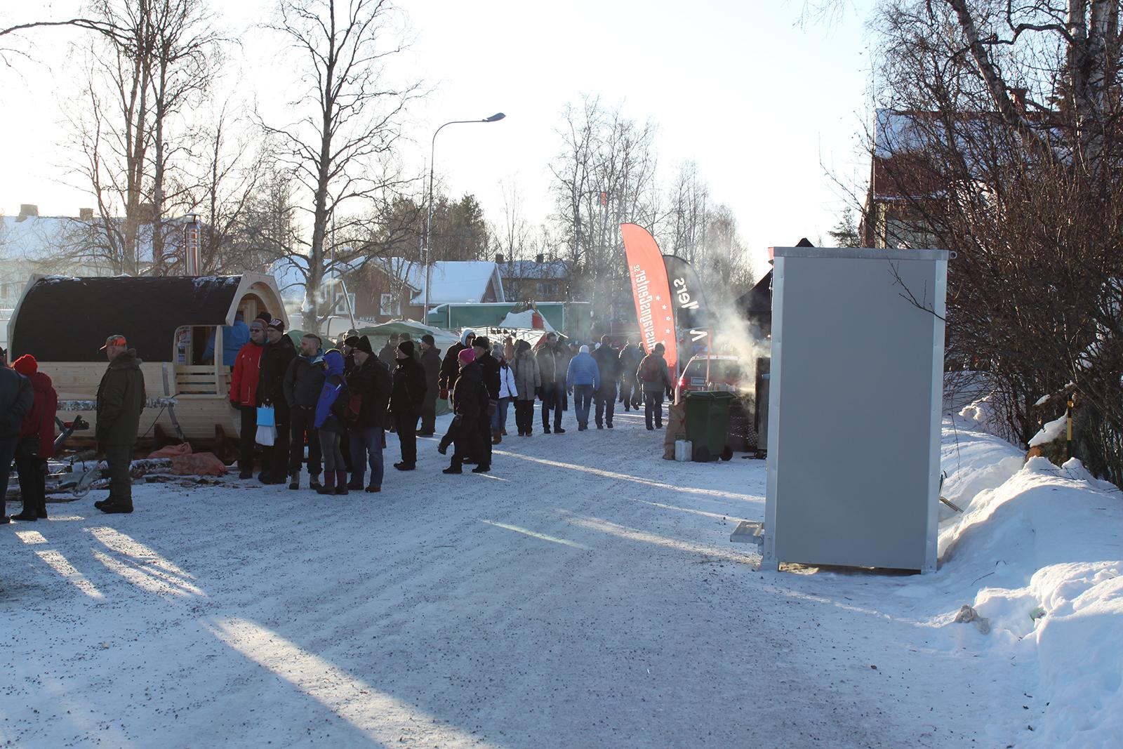 Jokkmokks marknad, lördag 7:e februari 2015
